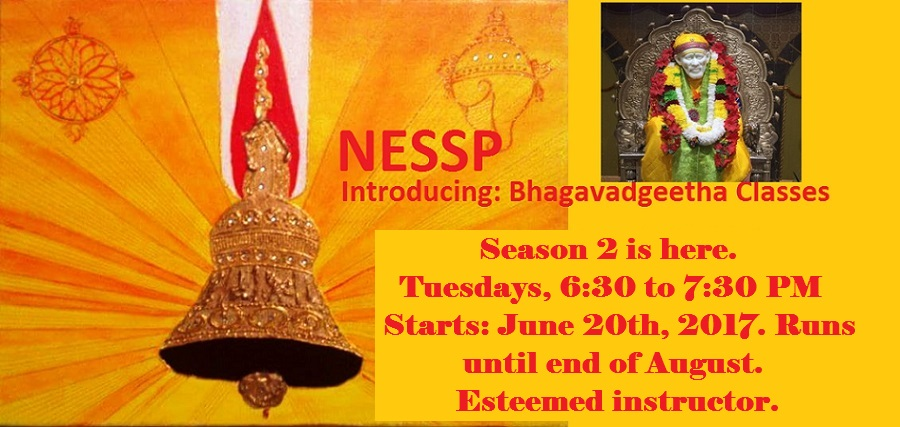 Introducing: Bhagavadgeetha Classes