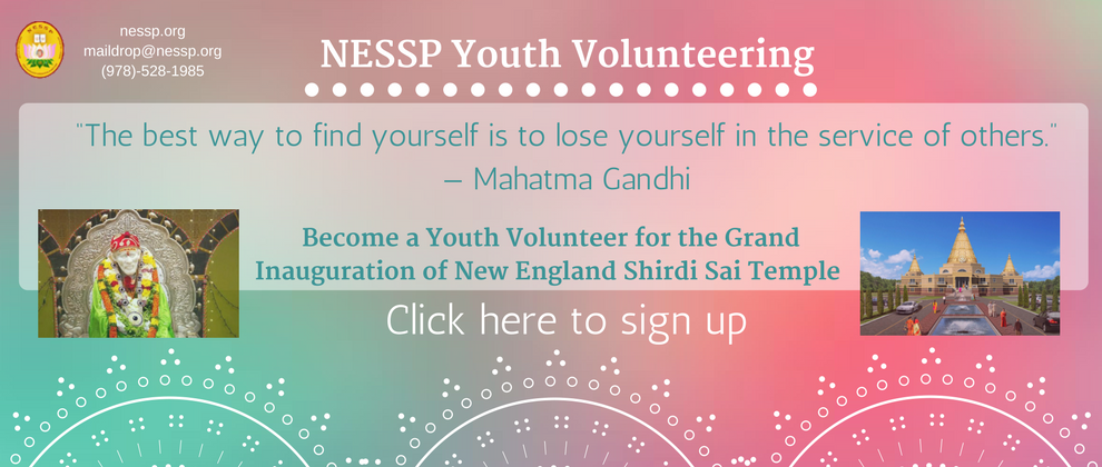 Youth Volunteers Signup