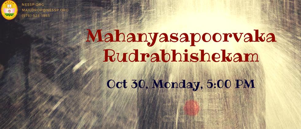 Mahnayasa Poorvaka Rudrabhishekam