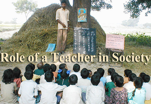 Role of a Teacher in Society