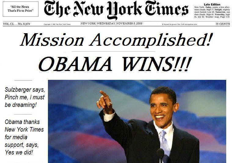 Why obama won the 2008 election