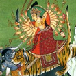 Avatar in the Durga Saptashati